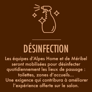 Alpes Home COVID desinfection
