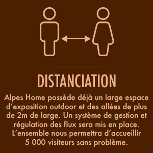 Alpes Home COVID distanciation